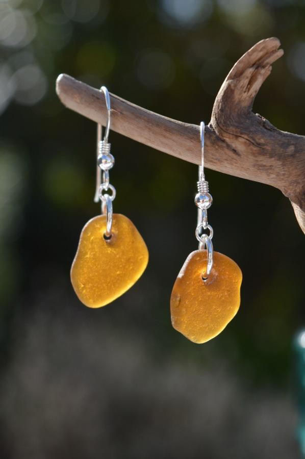 Brown/Amber Sea Glass